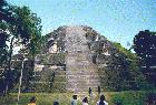 Site of Tikal Ruins
